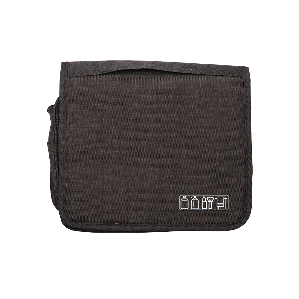 Hanging Travel Toiletry Bag for Men and Women Makeup Bag Cosmetic Bag Foldable Bathroom and Shower Organizer Kit Leak Proof